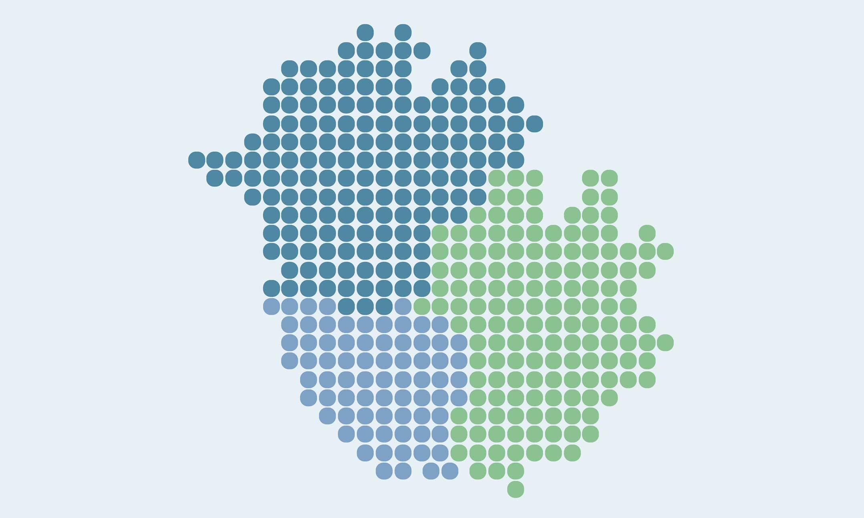 Carte des espaces de coworking et des Tiers-Lieu du Pays Coeur d'Hérault