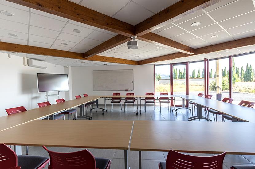 Coeur d'Hérault, une salle de réunion d'une capacité de 20 à 60 personnes.