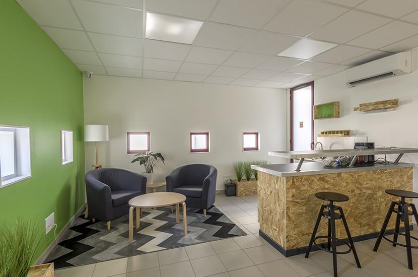 L'espace de coworking Novel.id, une solution pour travailleurs nomades et télétravailleurs.